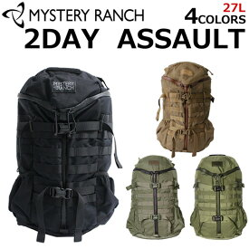 MYSTERY RANCH ミステリーランチ 2Day ASSAULT ツーデイ アサルト バックパックリュック リュックサック バックパック デイパック バッグ メンズ 27L A3プレゼント ギフト 通勤 通学 送料無料