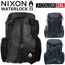 NIXON/ニクソン WATERLOCK II ウォーターロック 2リュックサック/バックパック/C1952/カバン/鞄/バッグプレゼント/ギ…