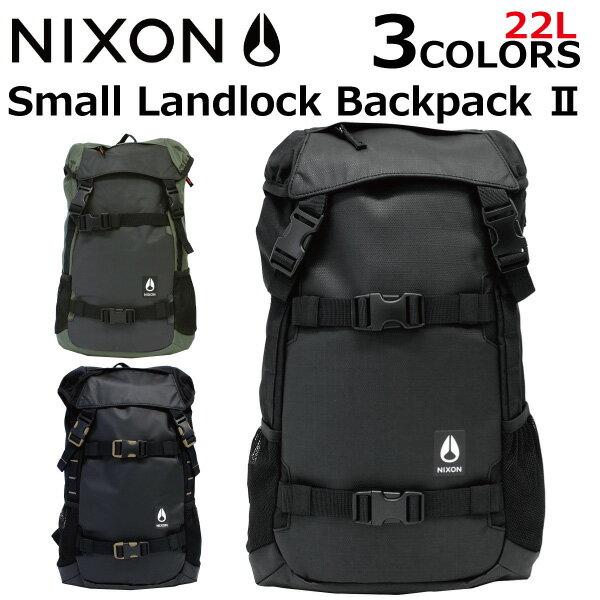 NIXON ニクソン C2841 SMALL LANDLOCK ランドロック 2リュックサック バックパックメンズ レディース 16L B4プレゼント ギフト 通勤 通学
