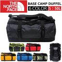 THE NORTH FACE/ザ ノースフェイス BASE CAMP DUFFEL/ベースキャンプダッフルSサイズ 50L ボストンバッグ/リュックサック/バッ...