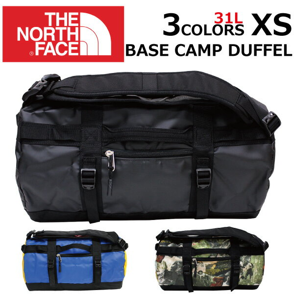 THE NORTH FACE ザ ノースフェイス BASE CAMP DUFFEL ベースキャンプ ダッフル XSサイズリュック リュックサック バックパック ボストンバッグ メンズ B4 31Lプレゼント ギフト 通勤 通学 送料無料