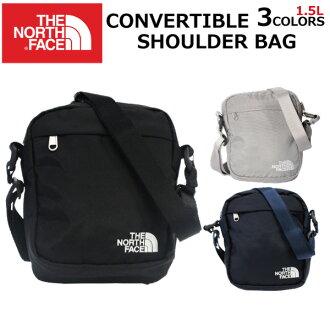 在由于超级市场促销可以使用的优惠券分发时!THE NORTH FACE zanosufeisu CONVERTIBLE SHOULDER BAG可兑换的挎包挎包人分歧D 1.5L黑色礼物礼物父亲节通勤上学