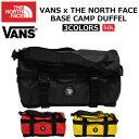 THE NORTH FACE × VANS ザ ノースフェイス × VANS BASE CAMP DUFFEL ベースキャンプダッフルコラボ 50L ボストンバ...