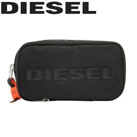 DIESEL ディーゼル HISOKKA ポーチガジェットケース ADANYシリーズ ブラック メンズ レディース X06435-PR027-T8013プレゼント ギフト 通勤 通学 送料無料