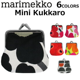 marimekko マリメッコ Mini kukkaroがま口 財布 コインケース 小銭入れ レディース 34773/39877 Mini Unikkoプレゼント ギフト 通勤 通学