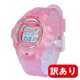 【訳あり】【アウトレット】【BOXなし】CASIO カシオ / Baby-G ベビージー BG-169R-4E ネオレトロカラー レディース ピンク クリア デジタル 腕時計