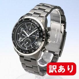 エントリー&5,000円以上ご購入で300ポイント贈呈!【訳あり】【アウトレット】【BOXなし】POLICE / ポリス PL.12777JSBS/02MA マルチファンクションモデル メンズ 腕時計