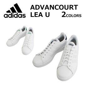 年末セール開催中!12/11 1:59まで adidas アディダス ADVANCOURT LEA U アドバンコート スニーカースポーツ メンズ レディース F36423 F36424プレゼント ギフト 通勤 通学 送料無料