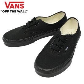 条件付きでMAX1,000OFFクーポン配布中!VANS ヴァンズ AUTHENTIC オーセンティック靴 シューズ スニーカー メンズ レディース ユニセックス VN000EE3BKAブラック プレゼント ギフト 通勤 通学 送料無料