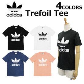 adidas Originals アディダス オリジナルスTREFOIL TEE オリジナルス トレフォイル Tシャツカットソー CV9888 CV9889 DV2587 DV2599レディース プレゼント ギフト 通勤 通学