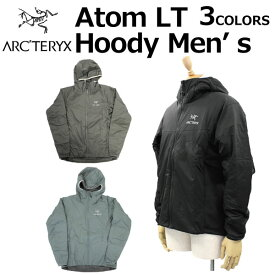 ARCTERYX アークテリクス Atom LT Hoody Men's アトム フーディ メンズ ジャケットパーカー 24477ブラック プレゼント ギフト 通勤 通学 送料無料