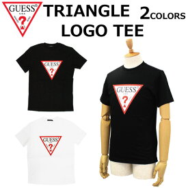 GUESS ゲス TRIANGLE LOGO TEE トライアングル ロゴ ツリーMJ2K9405K Tシャツ カットソー ロゴ 三角ロゴ メンズ プレゼント ギフト 通勤 通学