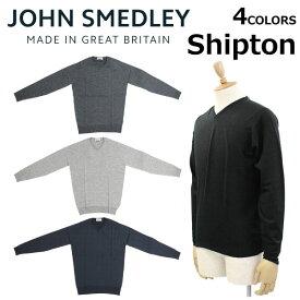 JOHN SMEDLEY ジョン・スメドレー ジョンスメドレー SHIPTON シプトン30ゲージ スタンダードフィット ニット メンズプレゼント ギフト 通勤 通学 送料無料