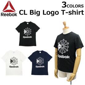 エントリー&3000円以上ご注文でポイント3倍! Reebok CLASSIC リーボック クラシック CL Big Logo T-shirt ビッグロゴ Tシャツカットソー メンズ DT8171 DT8115プレゼント ギフト 通勤 通学
