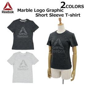 Reebok CLASSIC リーボック クラシック TE Marble Logo Graphic Short T shirt マーブル ロゴグラフィック ショートスリーブ Tシャツカットソー レディース DU4927 DP6667プレゼント ギフト 通勤 通学