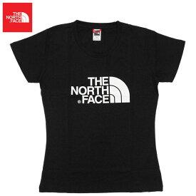 THE NORTH FACE ザ ノースフェイス W EASY TEE イージーTシャツトップス 半袖 ロゴ プリント レディースプレゼント ギフト 通勤 通学
