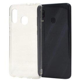 Galaxy A30 SCV43 ソフトケース Samsung Galaxy scv43 シンプル クリアケース 保護 カバー ギャラクシーケース カバー おしゃれ クリア a30 透明 マイクロドット ソフトクリアケース