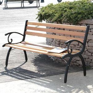 ベンチ バルコニー ガーデニング パークベンチ G210 天然木使用 カントリーナチュラル イス/椅子/お庭/野外 ガーデンベンチ 屋外 キャンプ ベンチ