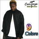 【Made in USA】【全9色】CalTop OG無地 L/Sシャツ[カルトップ]キャルトップ 無地シャツ カルトップ 長袖シャツ 大きいサイズ メンズ シャツ LL 2L 3L 4L 5L