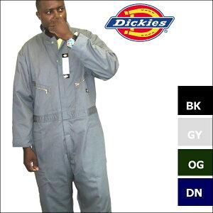 DICKIES ディッキーズ 【48799】【全4色】 カバーオール 長袖 ツナギ メンズ大きいつなぎ ディキーズつなぎ つなぎ無地 【M-2XLT】3XL/4XLは別のページになります。dickies48799 4879