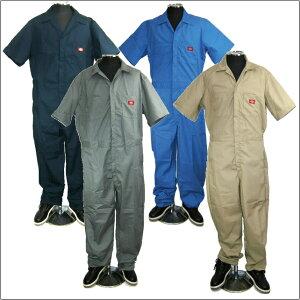 【全4色】DICKIES【3399】 【トールサイズ】ディッキーズ カバーオール 半袖 ツナギ 【ST-2XLT】半袖つなぎdickies