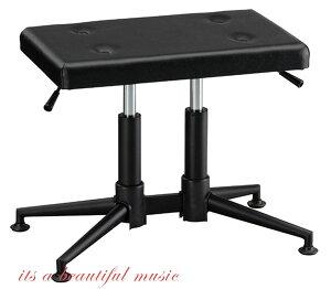 【its】入荷しました!(数量僅少・次回入荷未定品)新デザイン!ピアノ椅子 GSP-55(黒色)ガススプリング上下!