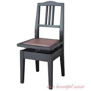 【its】入荷しました!(数量僅少・次回入荷未定品)ヤマハ背もたれピアノ椅子 YAMAHA No.5A(No5A)黒色