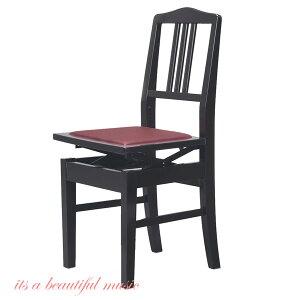 【its】入荷しました!(数量僅少・次回入荷未定品)ヤマハ純正 背もたれピアノ椅子(日本製・トムソン椅子) YAMAHA No.5(No5 PI-5)黒色