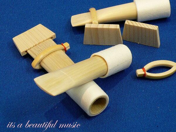 【its】雅楽楽器・篳篥(ひちりき)用 加工済みロゼツ(舌)並製