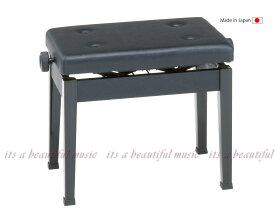 【its】Made in Japanのベストセラー標準ピアノ椅子!甲南Konan AW55-S(AW55S)黒色
