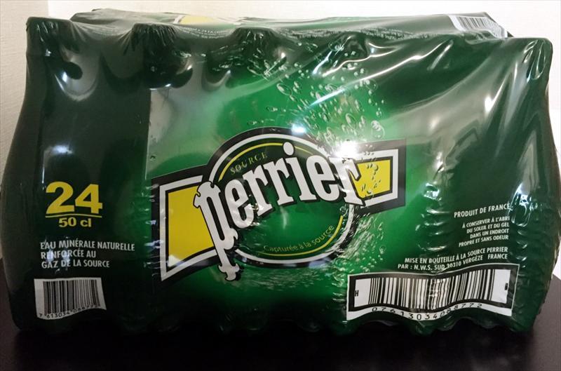 ペリエ Perrier 500ml× 24本 ペットボトル ナチュラル 炭酸水 スパークリングウォーター