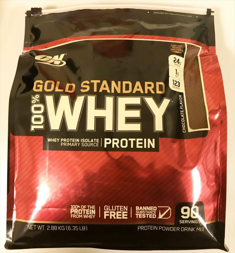【送料無料】ゴールドスタンダード ホエイ プロテイン パウダー チョコレート味 2880g(2.8kg)