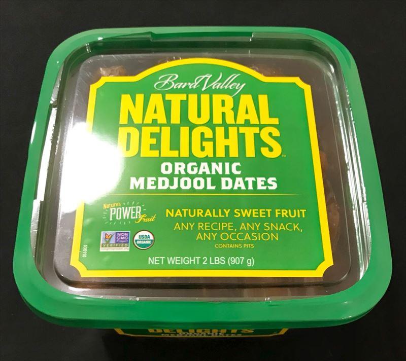 デーツ オーガニック 907g なつめやし ドライフルーツ Natural Delights ナチュラルデライツ 奇跡の果実 食物繊維 マグネシウム ヨーグルト シリアル ジャム