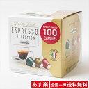 【全国一律送料無料】【カフィタリーコーヒー】Caffitaly コーヒーカプセル 100個入【SOAVE】40個【VIVACE】30個 【DE…