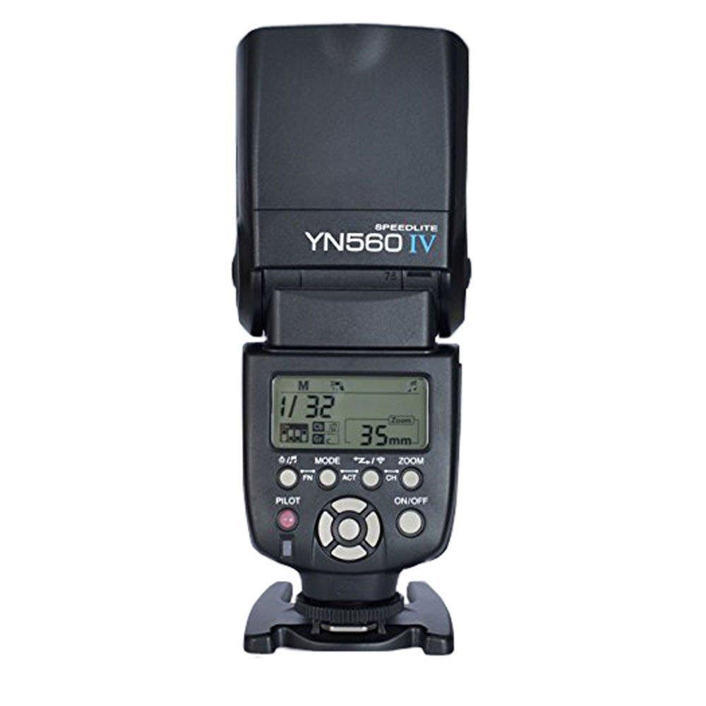 【YN560四代目!!】【正規品 純正品 3ヶ月保証!!】 Yongnuo製 Speedlight YN560 IV 2.4GHZ Canon/Nikon/Pentax/Panasonic 対応 フラッシュ・ストロボ 高出力スピードライト ゆうパック発送のみ【新安価商品】