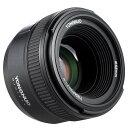 【正規品 純正品3ヶ月保証!!】YONGNUO製 AF 50mm f1.8 Nikon用 大口径 オートフォーカス FX DX フルフレーム レンズ スタンダード プライム レンズ 一眼レフカメラに対応 ゆうパック発送のみ