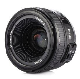 【正規品 純正品3ヶ月保証!!】YN 35mm F2 単焦点レンズ キャノン用 または ニコン用  EFマウント フルサイズ対応 広角 標準レンズ YONGNUO製 ゆうパック発送のみ