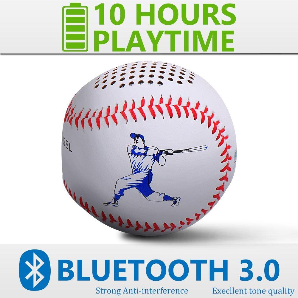 【アメリカFlyStone代理店大人気!】 Bluetooth 野球スピーカー iPhone・スマートフォン(スマホ)・iPad対応 Bluetooth3.0 野球スピーカー iPhone iPad 対応 Bluetooth3.0 ゆうパック発送のみ【純正品 正規品 3ヶ月保証!!】【11/4からバーゲン中 期間限定】