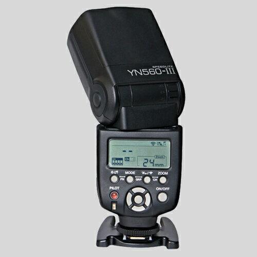 【YN560三代目!!】【正規品 純正品 3ヶ月保証!!】 YN560 III Yongnuo製 通用型  Canon/Nikon/Pentax/Olympus対応 Speedlight フラッシュ・ストロボ YN560 II後継モデル 高出力スピードライト ゆうパック発送のみ 【安価商品】