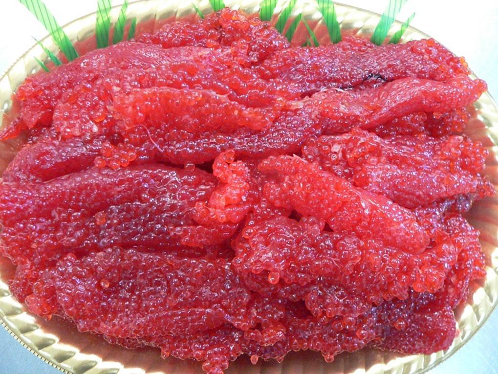 最高級 アラスカ産 紅鮭筋子 1kg
