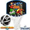 スポルディングジャスティスリーグバスケットボールゴールマイクロミニバックボードSPALDING5001JUSTICE