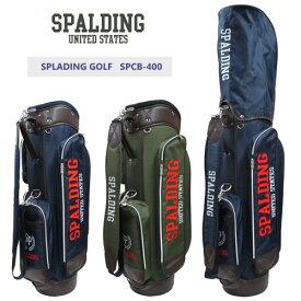 SPALDING GOLF(スポルディングゴルフ)カジュアルキャディバッグ SPCB-400