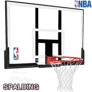 バスケットゴール単品 バックボード スポルディング NBAアクリルコンボ バスケットボール ACRYLIC COMBO 自宅 家庭用 屋外 バスケ練習 お客さま組立 SPALDING 79836CN