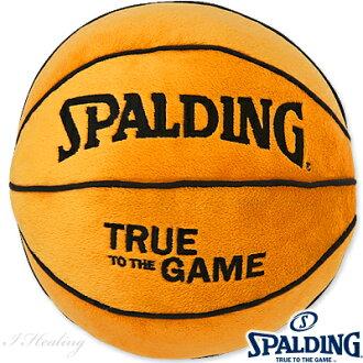 篮球SPALDING圆形球靠垫斯波尔丁12-001BLL