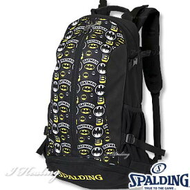 バスケットボール収納バッグ ケイジャー バットマン ロゴ スポルディング リュック BATMAN LOGO SPALDING40-007BML