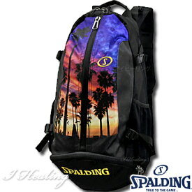 バスケットボール収納バッグ ケイジャー ロサンゼルス スポルディング リュック LOS ANGELES SPALDING40-007LA