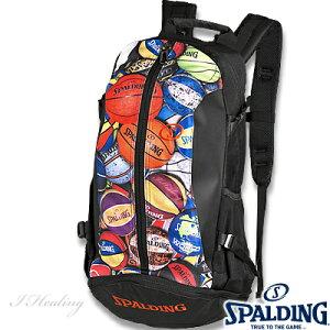 スポルディング ケイジャー マルチボール バスケットボール バッグ リュック SPALDING 40-007MLB