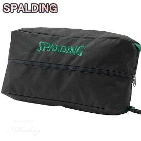 SPALDING バスケットボール シューズバッグ グリーンテープ スポルディング 42-002GT☆2019NEWモデル