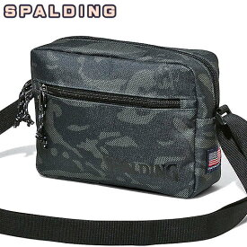 SPALDING バスケットボールバッグ ショルダーポーチ アーバンカモ 迷彩 スポルディング 50-010UC