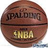 女性用バスケットボール6号SPALDINGゴールド試合球スポルディング74-614Z